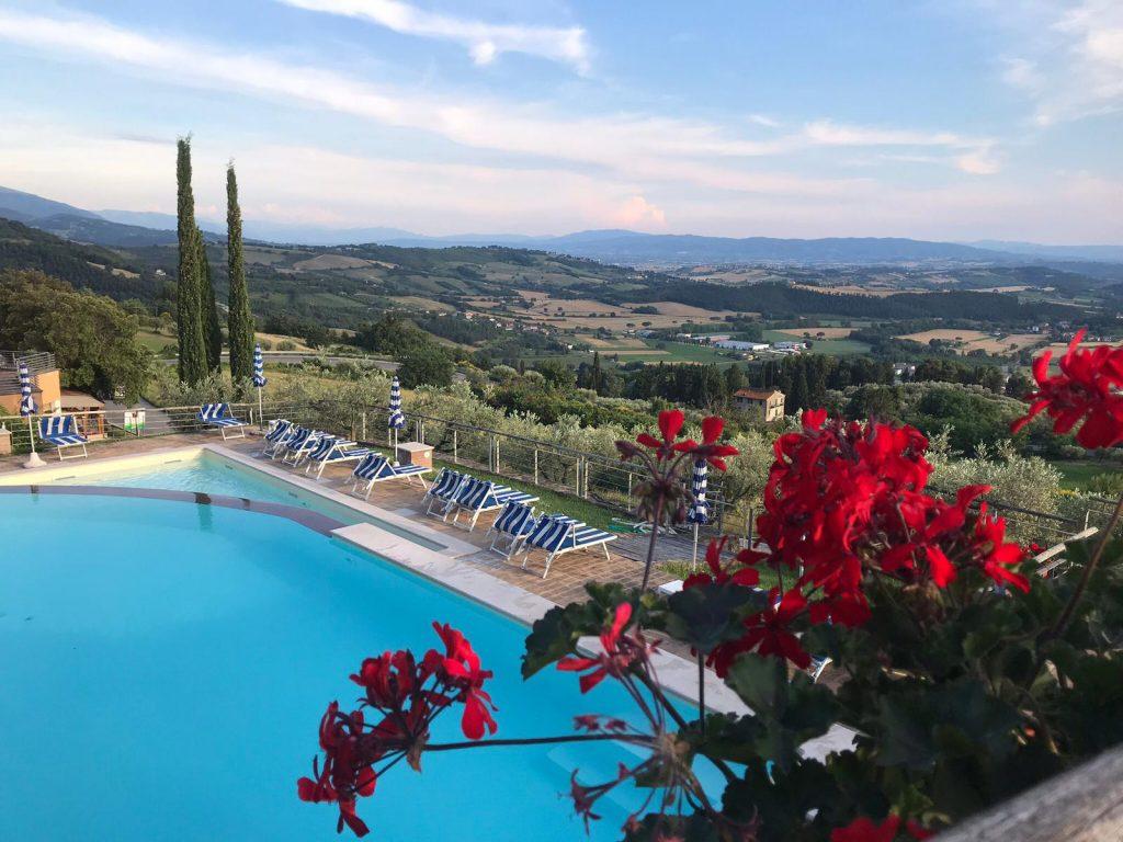 Vista panoramica Il Castellaccio